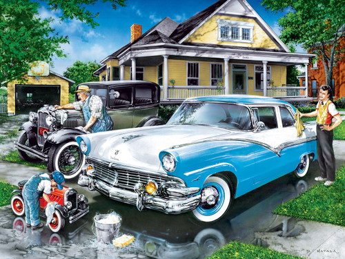 Three Generations - 400pc Jigsaw Puzzle by Masterpieces