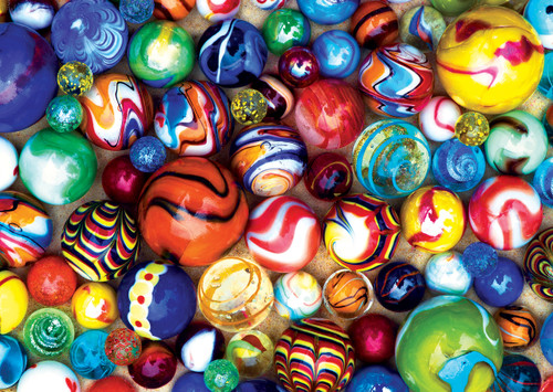 World'S Smallest: All My Marbles - 1000pc Jigsaw Puzzle by Masterpieces