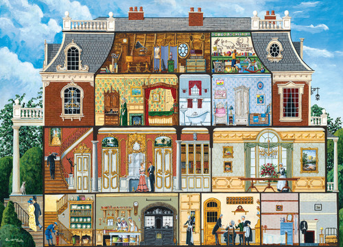 Walden's Manor House - 1000pc Jigsaw Puzzle by Masterpieces