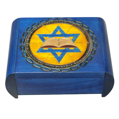 Star of David with Torah - Secret Box