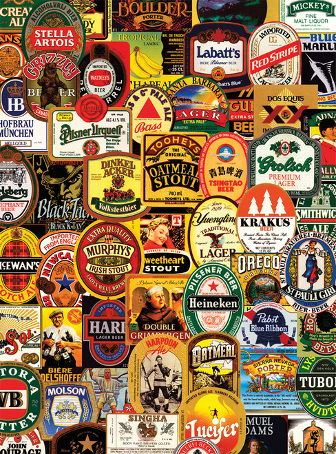 Jigsaw Puzzles - So Many Beers