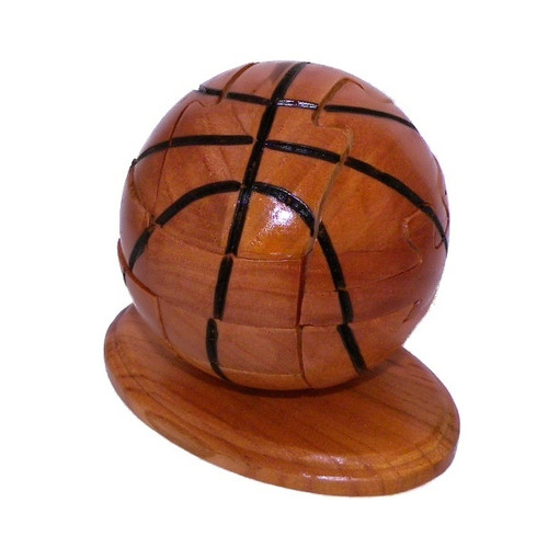 Ultimate Sports: Basketball - Wood Assembly Puzzle