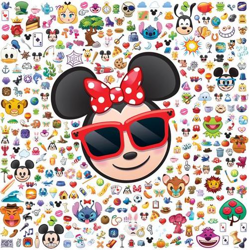 Disney Emoji: Emoji Minnie - 300pc Jigsaw Puzzle by Ceaco