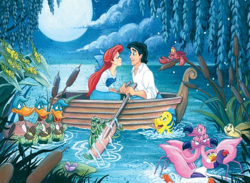 Disney: Something About Her - 200pc Oversized Jigsaw Puzzle by Ceaco