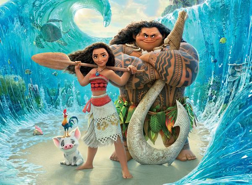 Disney: Moana - 200pc Oversized Jigsaw Puzzle by Ceaco