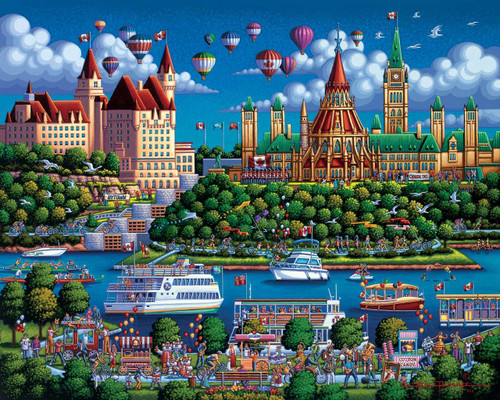 1000pc Jigsaw Puzzle By Dowdle