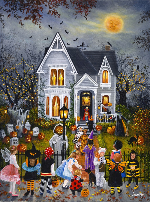 Scary Night 1000pc Jigsaw Puzzle By Sunsout