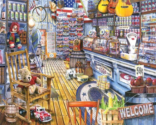 Jackson General Store 1000pc Jigsaw Puzzle By White