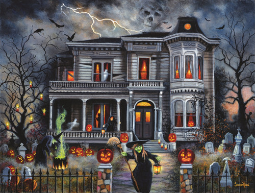 Witching Hour 500pc Jigsaw Puzzle By Sunsout