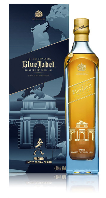 Johnnie Walker Blue Label Madrid Edition 70cl