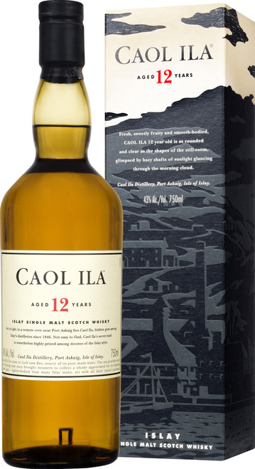 Caol Ila 12 Year Old 70cl