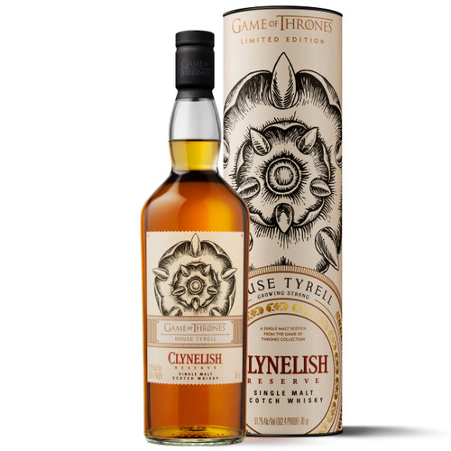 Game of Thrones - Clynelish Reserve - Casa Tyrell
