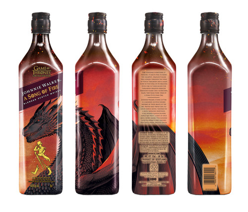 Johnnie Walker Game of Thrones Song of Fire 70cl