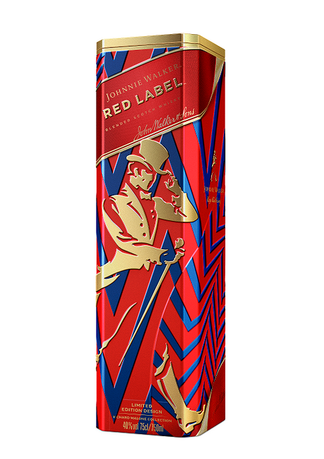 Johnnie Walker Red Label Tin 70cl