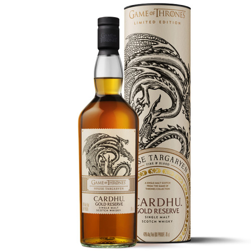 Game of Thrones - Cardhu Gold Reserve - Casa Targaryen