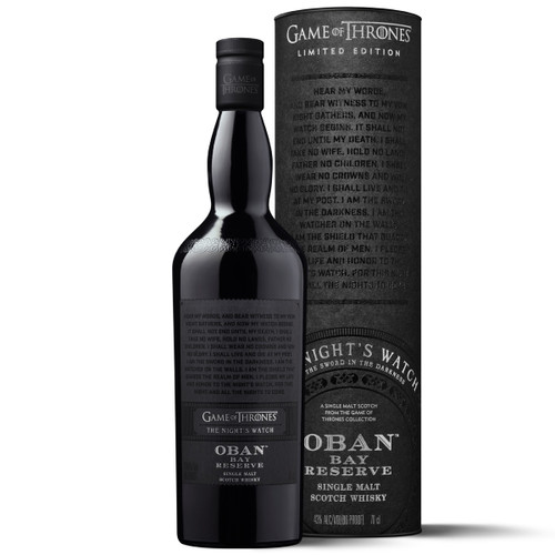 Game of Thrones Oban Bay Reserve - La Guardia de la Noche