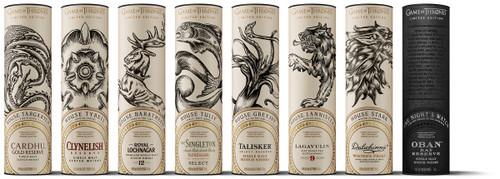 Game of Thrones - 8 Bottle Whisky Collection