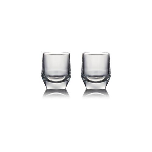 JW Crystal Glass Tumbler x 2