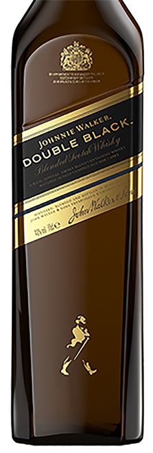 Johnnie Walker Double Black70cl con un grabado