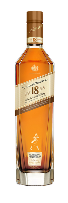 Johnnie Walker 18 Year Old Label 70cl