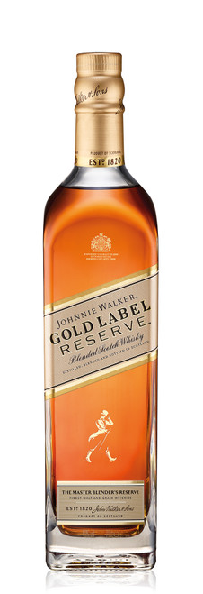 Johnnie Walker Gold Label with Personalised Label 70cl