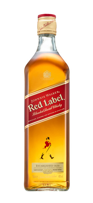 Johnnie Walker Red Label 70cl con etiqueta