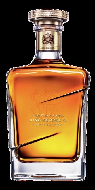 King George V 70cl con un grabado