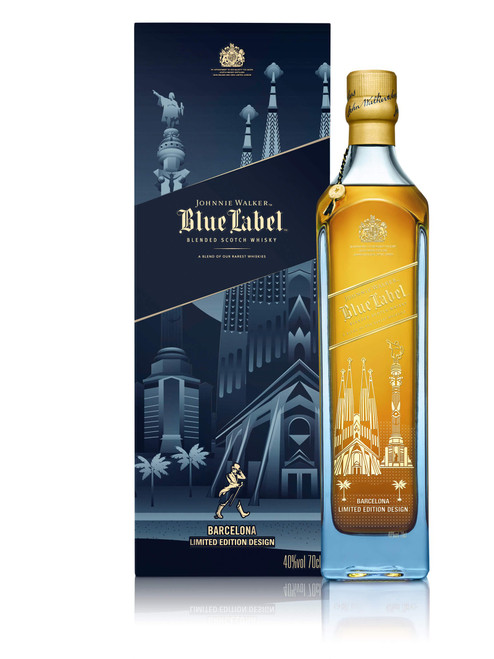 Johnnie Walker Blue Label Barcelona Edition 70cl