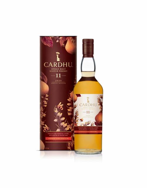 Cardhu 11 YO Rare by Nature 2020 botella y caja 70 cl