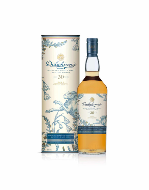 Dalwhinnie 30 YO Rare by Nature 2020 botella y caja 70 cl