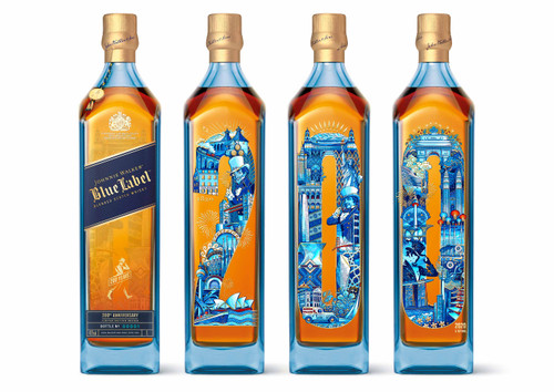 Johnnie Walker Blue Label 200th Anniversary Edición Limitada