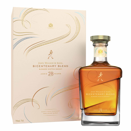 John Walker & Sons Bicentenary Blend botella y caja 70 cl