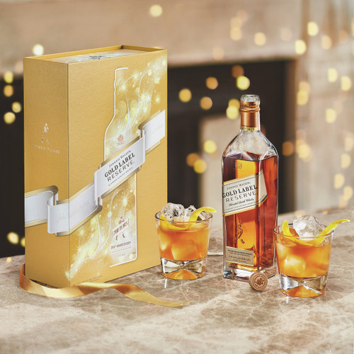 Johnnie Walker Gold Label Gift Pack 200th