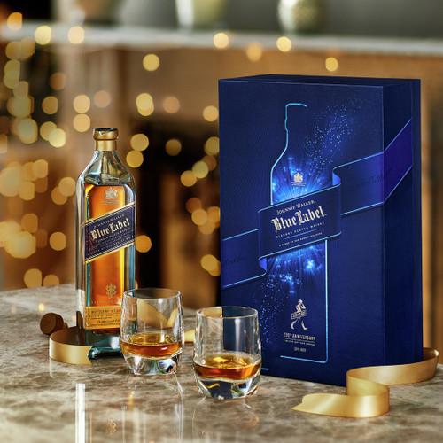 Johnnie Walker Blue Label Gift Pack 200th