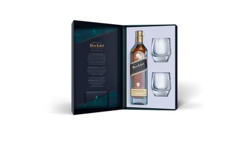 Johnnie Walker Blue Label Crystal Glass Set 70cl