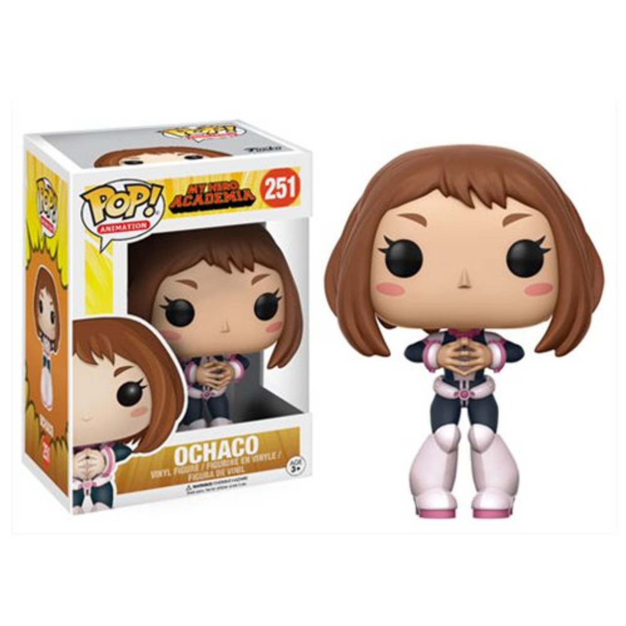 My Hero Academia Ochaco Funko Pop Vinyl Figure Animation 251 Super Fantasy Land