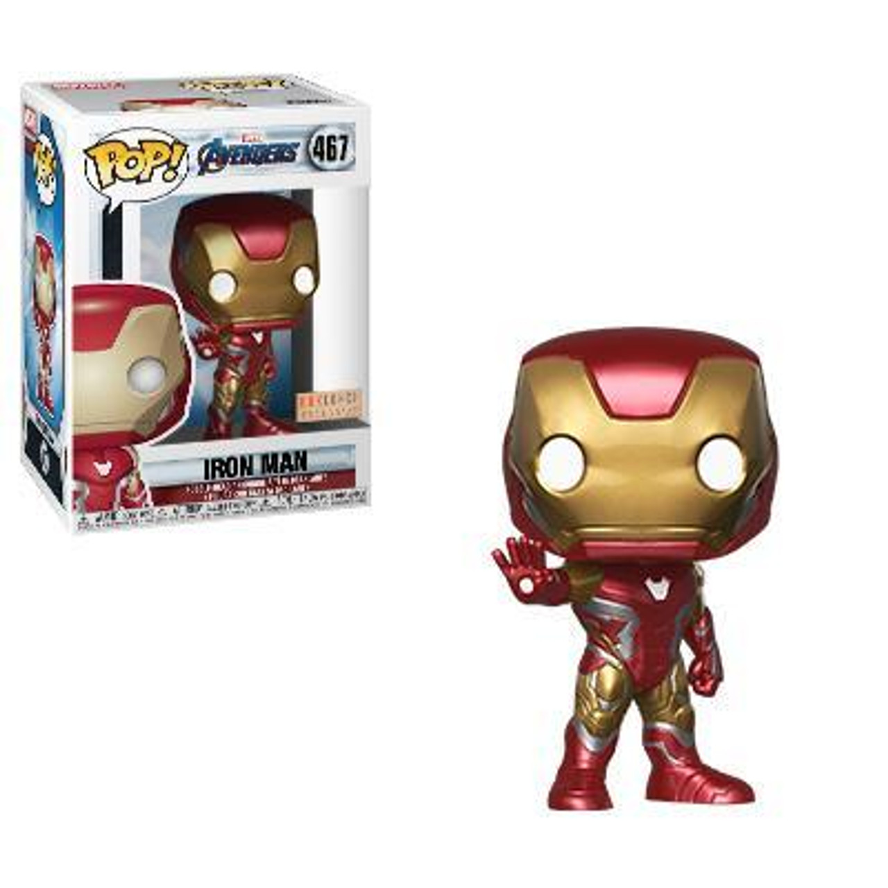 Marvel Avengers Gamerverse Iron Man Special Edition 634 Funko Pop