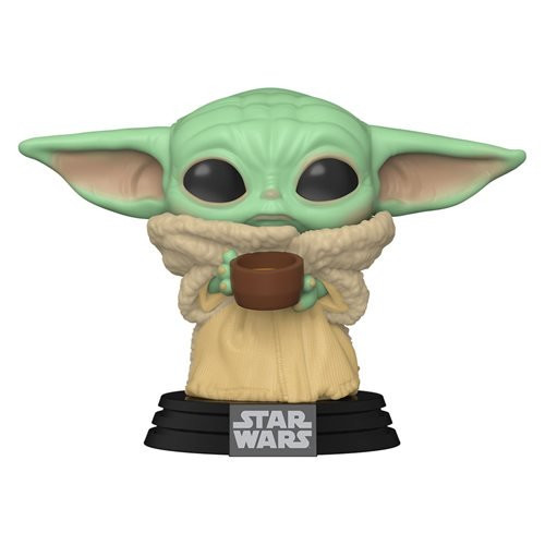 The Mandalorian The Child with Cup Funko Pop! Star Wars #378