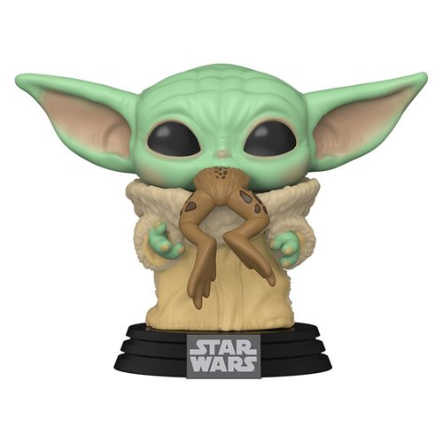 The Mandalorian The Child with Frog Funko Pop! Star Wars #379