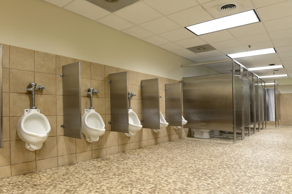 Cleaning Stainless Steel Bathroom Stalls: Frequency, Tough Stains