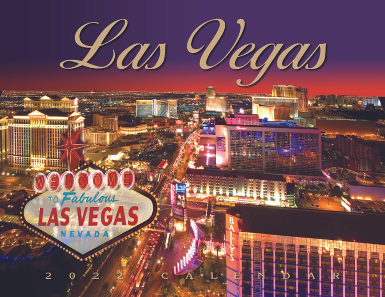 Las Vegas Calendar 2022.2022 Las Vegas Scenic Calendar