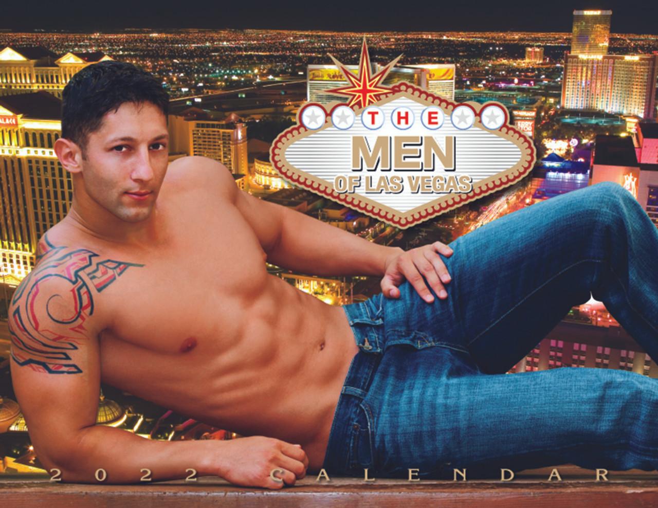 Las Vegas Calendar 2022.2022 Las Vegas Men Calendar