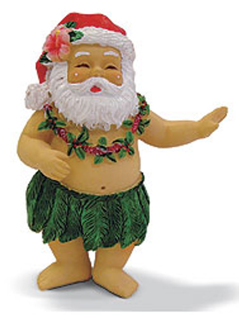 Christmas Ornament - Hula Santa