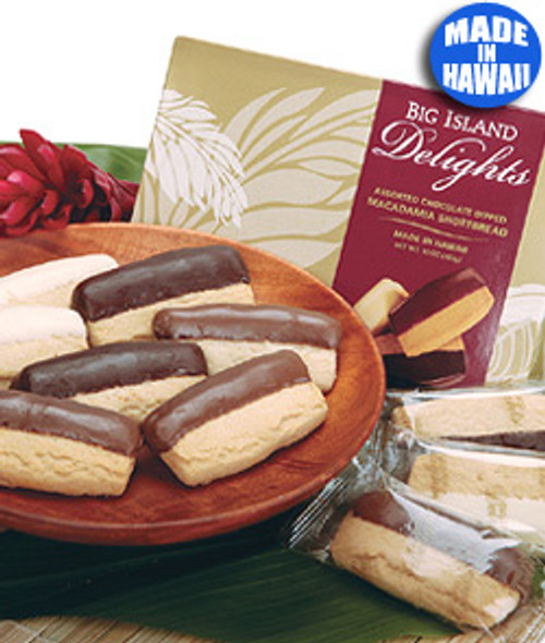 Chocolate Dipped Shortbread Cookie Assortment