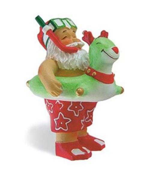 Christmas Ornament - Beach Bound Santa