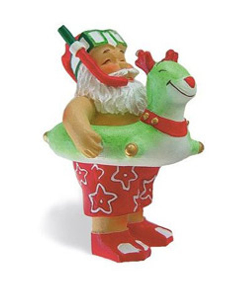 Christmas Ornament - Beach Bound Santa