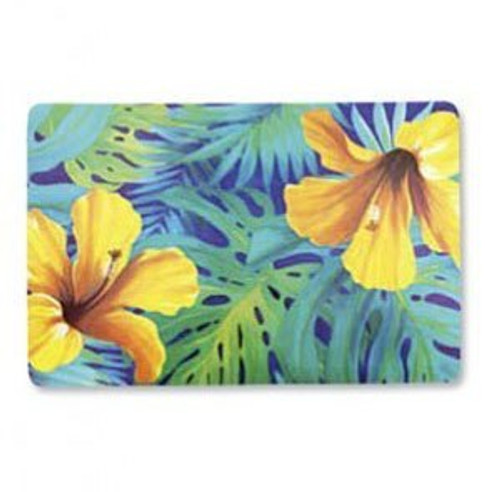 Hawaiian Design Placemat in hibiscus blossom design