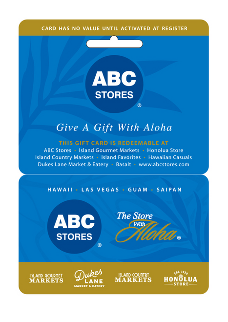 ABC Gift Card