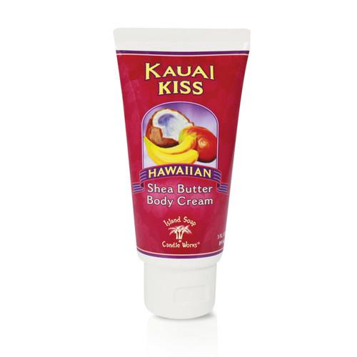 Island Soap Company Shea Butter Body Cream in Kauai Kiss scent
