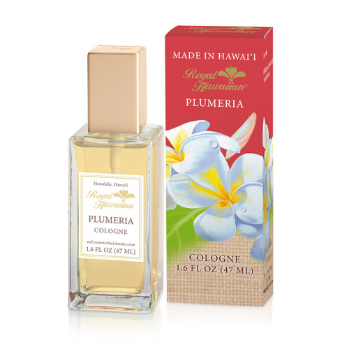 Royal Hawaiian Cologne Mist 1.6oz in plumeria scent